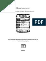 Monachium 1938 - Polskie Dokumenty Dyplomatyczne