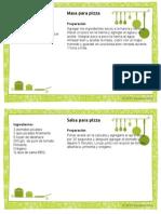 Recipe Card Template 4x6