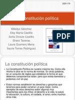 La Constitución Política
