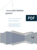Using of the Kanban System