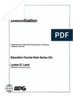 Dolomitization (AAPG Course Notes 24) [Lynton Stuart Land]