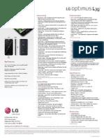 ESpec Sheet LG L70