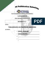 informe electronicapractica 1