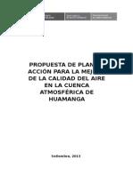 Plan Ayacucho Calidad Del Aire