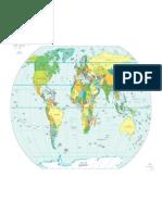 High Resolution Maps Political PDF World