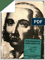 Friedrich Hölderlin, Fiesta de La Paz, Trad. Gutiérrez Girardot