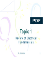 Review of Electrical Fundamentals Asmar