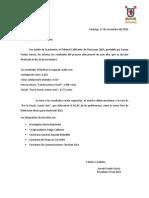 Comunicado Final Elección Feusach 2015