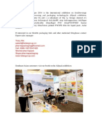 Sichuan Hui Li Industry Co.,Ltd on Iphex&Allpack indonesia Expo 2014