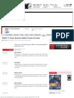 SWAT 3 Cheats, Codes, Unlockables - PC - IGN