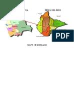 Mapa de Bolivia Mapa Del Beni