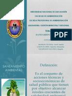 1.-Saneamiento Ambiental en Peru