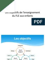 LES OBJECTIFS DE L'ENSEIGNEMENT DU FLE AUX ENFANTS.pdf