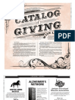 Catalog of Giving 2014