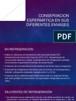 Conservacion Espermática en Sus Diferentes Envases