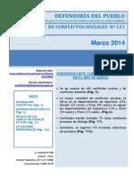 48reporte Mensual de reporte de conflictosConflictos Sociales n 121 Marzo