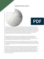 Sejarah Awal Mula Permainan Bola Voli Atau Volley Ball