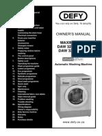 DAW327 Manual