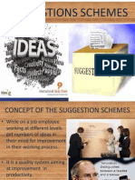 Suggestion Schemes
