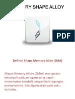 Memory Shape Alloy