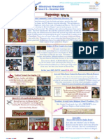 Beit Issie Shapiro Milestones Newsletter Issue #6 December 2009