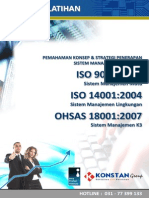 Materi Awareness Training [ISO 9001-IsO 14001-OHSAS 18001]