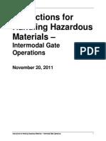 Intermodal Gate Operations 2011