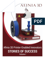 Afinia3D-eBook-Vol1 3Dprinting Stories of Success