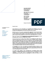 De brief van Jo Cornu