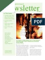Group 48 Newsletter - January 2010