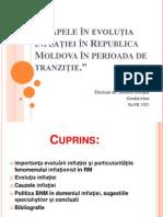 Etapele În Evoluția Inflației În Republica Moldova
