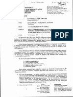 NCMB Settlement Report