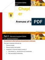 Avenues of investment