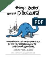 dinosaurs treatment tagline synopsis 1st half
