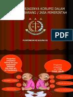 Korupsi Dlm Pengadaan Barang
