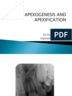 Apexification and Apexogenesis