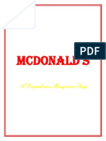 Mcdonalds Projectfinal 140326130105 Phpapp02