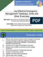 Eff Emergency Exercises