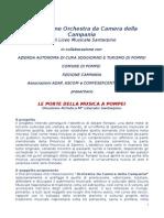 Le Porte Della Musica a Pompei