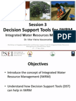Decision Support Tools for Integrated Water Resources Management