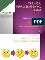 07_Konvolusi & Transformasi Fourier