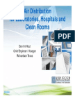 Air Dist for Labs, Hospitals and Clean Rooms-ASHRAE1