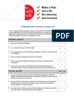 Bru Cyber Security Checklist