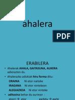Ahalera Nor