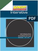 Informacoes Academicas Graduacao Ingressantes 2014