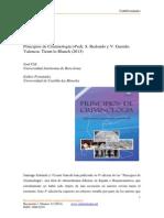 Recensión del libro Principios de Criminología 4º edición