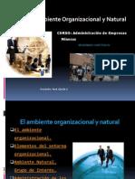 Ambiente Organizacional y Natural