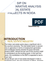Comparative Analysis of Real Estate Projects in Noida