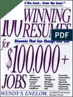 100 Winning Resumes