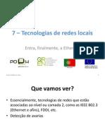 Tecnologias de Redes Locais